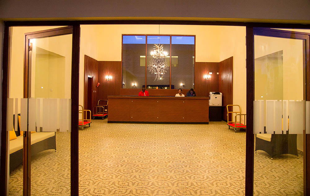Panari Resort_reception