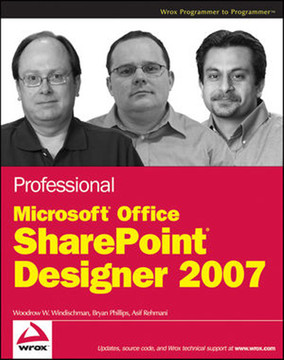 Professional Microsoft SharePoint Designer 2007 Book
