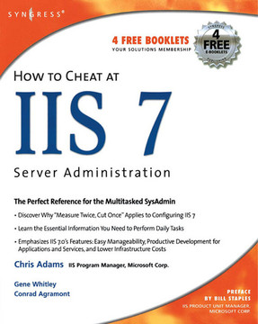 Preface  How to Cheat at IIS 7 Server Administration Book