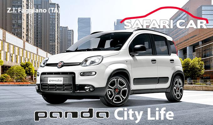 city life Tavola disegno 1 Nuovi allestimenti Fiat Panda