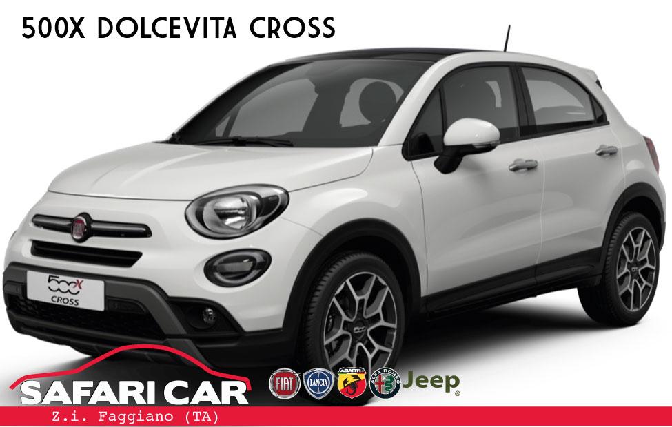 500x dolcevita cross Fiat 500x Dolcevita Cross e Dolcevita Sport