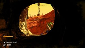 Caverna No Man's Sky Pathfinder Update