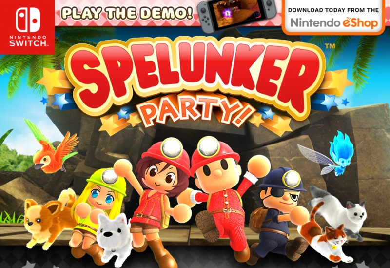 Spelunker Party Logo