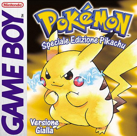 Pokemon Versione Gialla Logo
