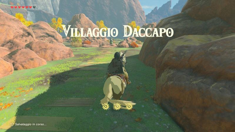 Guida Villaggio Daccapo in Zelda BOTW