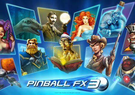 Pinball FX3 Logo