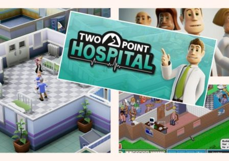 Two Point Hospital Annuncio