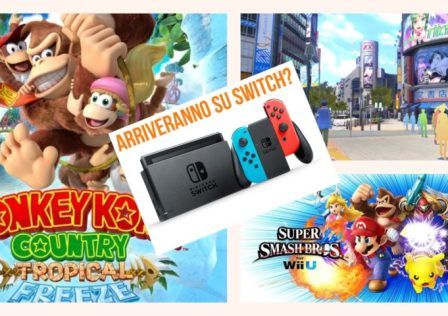 Tropical Freeze Super Smash Bros e Tokyo mirage arriveranno su Switch?