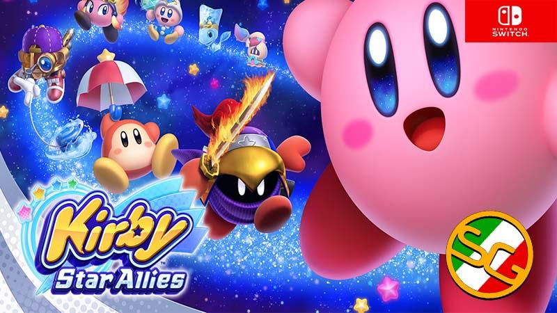 Kirby star allies LOGO
