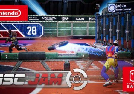 Disc Jam Nintendo Switch