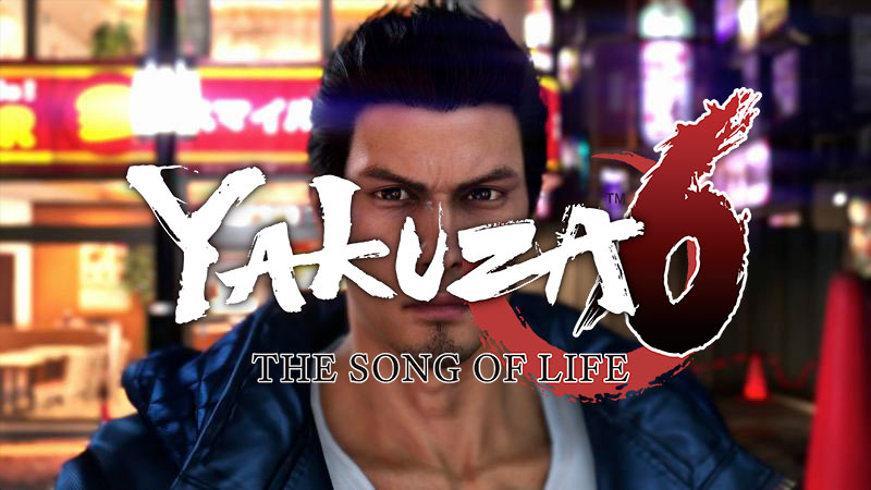 Yakuza 6 The Song Of Life LOGO