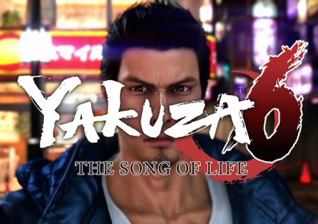 Yakuza 6 The Song Of Life LOGO
