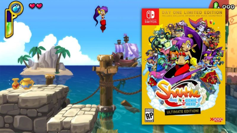 Shantae Half Genie Hero Ultimate Edition Recensione