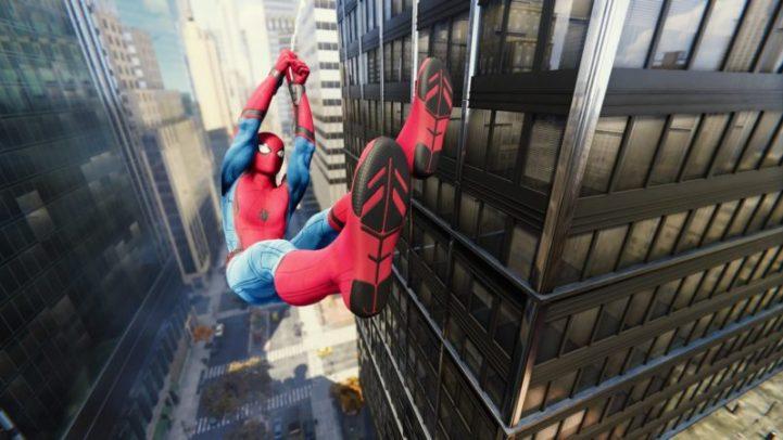 Spider-Man Stark costume