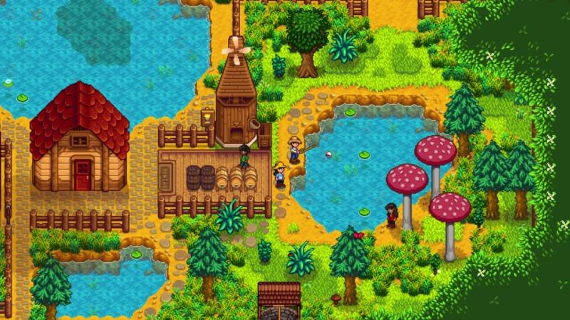 Stardew Valley Switch Multiplayer