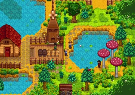 Stardew Valley Switch Multiplayer
