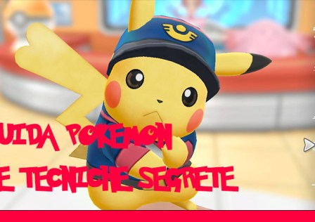 Pokemon Let's Go Guida tecniche segrete