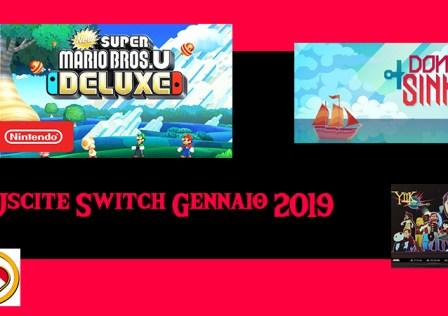 Uscite Switch Gennaio 2019