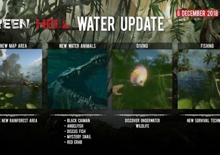 Green Hell Water Update
