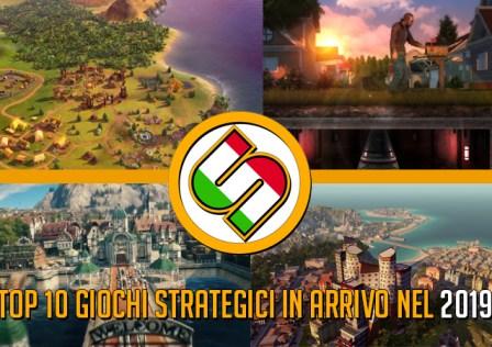 Top 10 giochi strategici più attesi del 2019