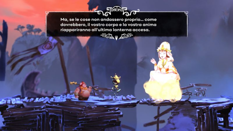 Recensione Unruly Heroes: le lanterne check-point