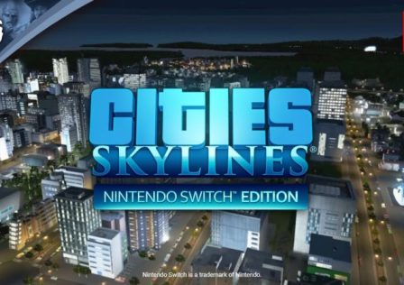 Cities Skylines Switch LOGO