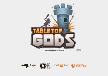 Tabletop Gods: Copertina