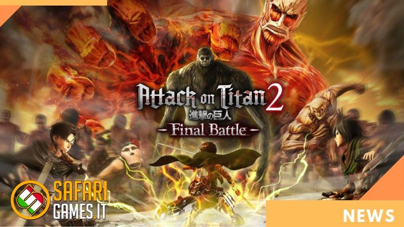 ATTACK ON TITAN 2 FINAL BATTLE LOGO