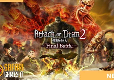 ATTACK ON TITAN 2 FINAL BATTLE LOGO