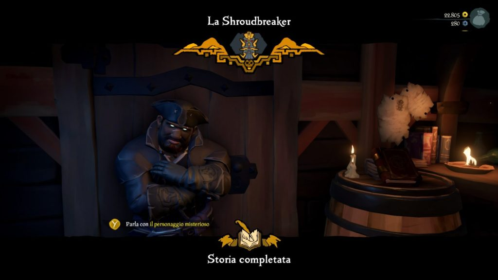 Sea of Thieves: Guida a Tall Tales - 01: La Shroudbreaker