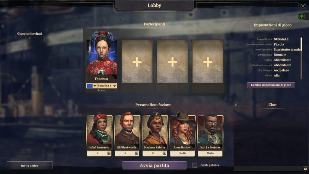 Anno 1800, multiplayer
