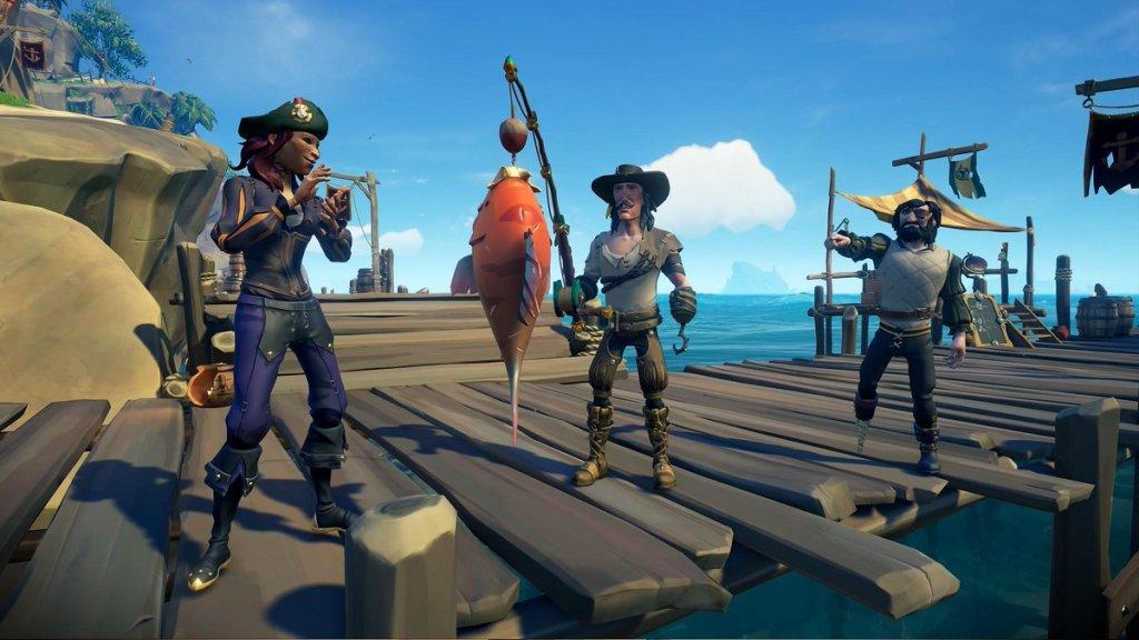 Sea of Thieves: Guida alla pesca