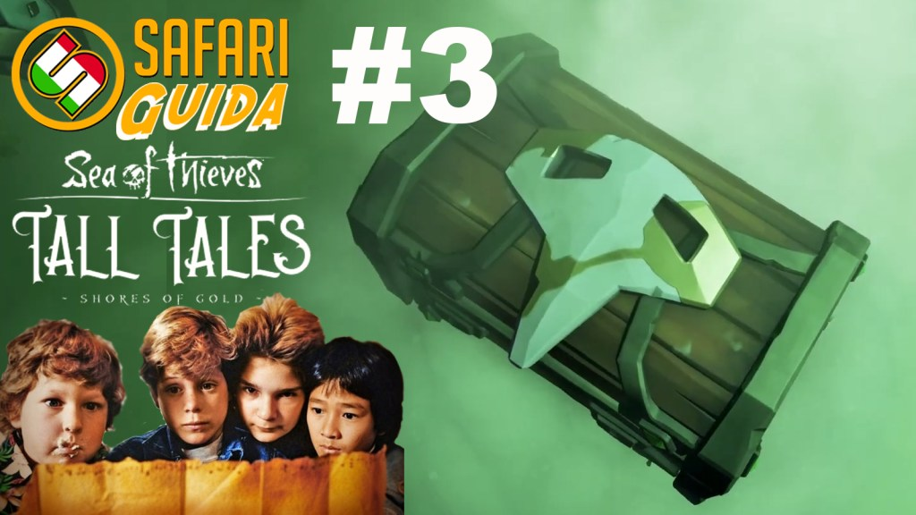 Sea of Thieves: Guida a Tall Tales – 03: Il narratore leggendario