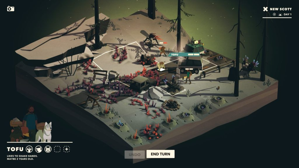 SafariGames Italia Overland: recensione del roguelike post-apocalittico Finji, indie, ios, Overland, Pc, Playstation 4, roguelike, xbox one