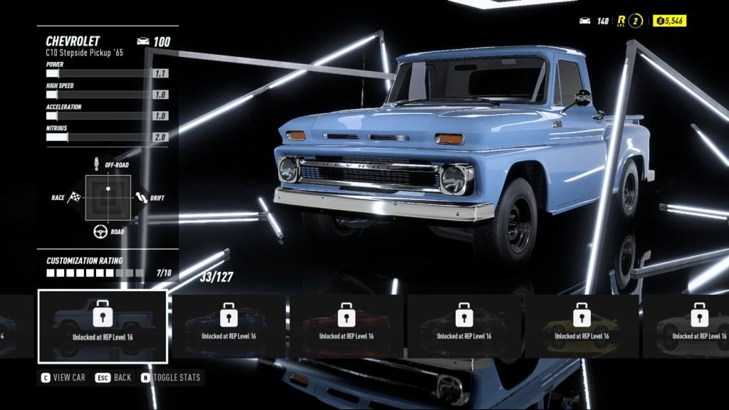 CHEVROLET C10 Stepside Pickup '65