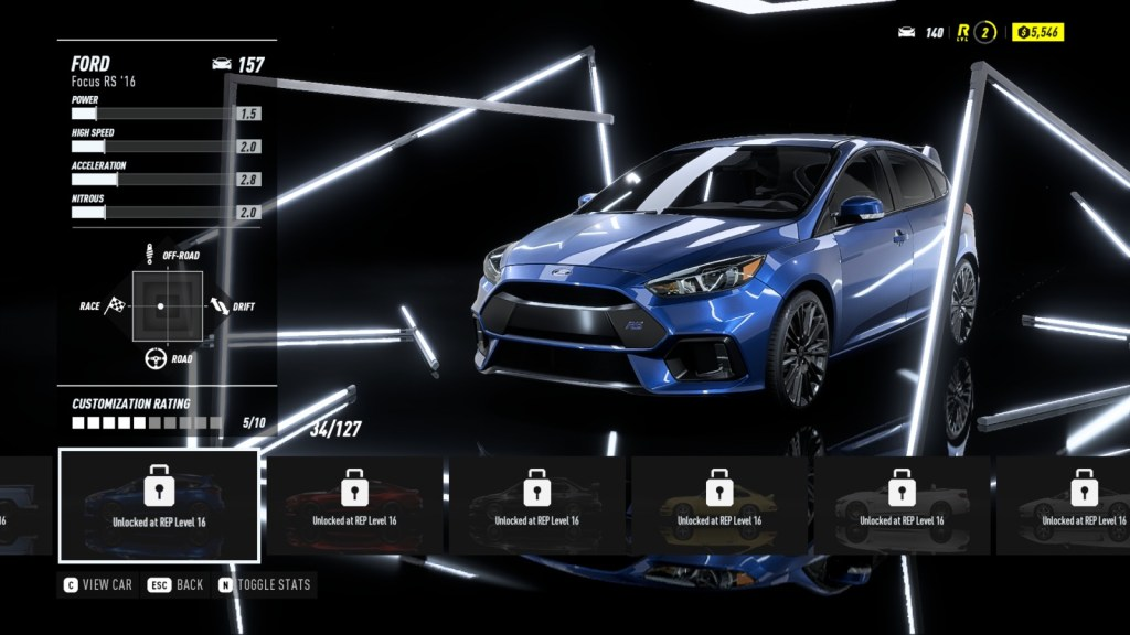 FORD Focus RS '16