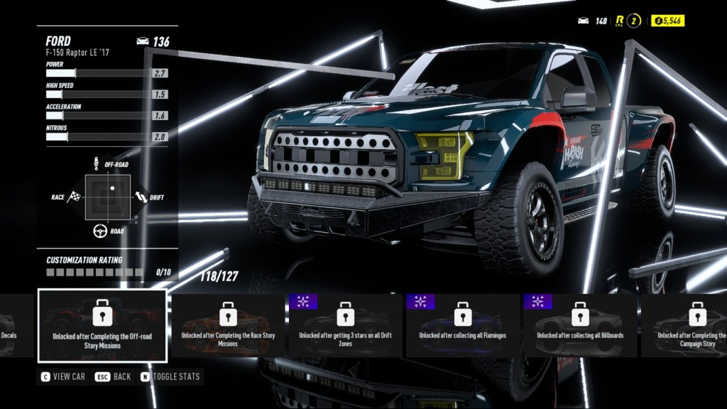 FORD F-150 Raptor LE '17