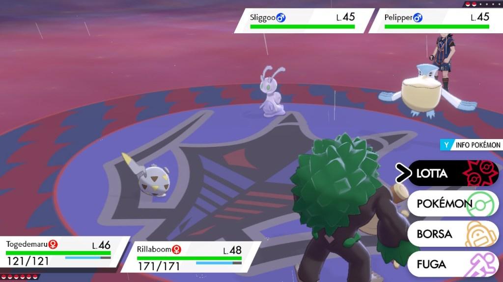 Pokemon spada e scudo recensione: i combattimenti