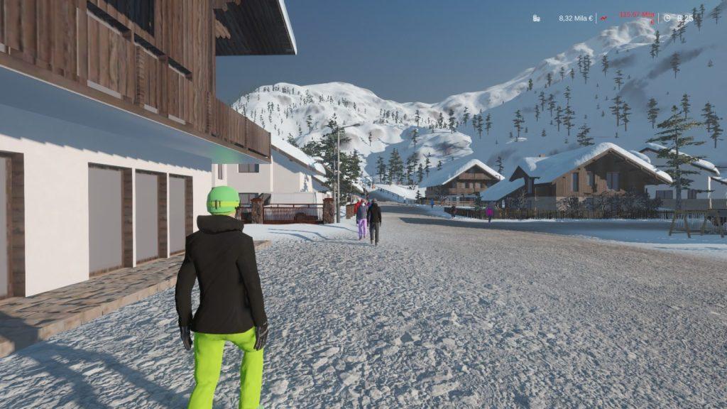 Belli gli sciatori...