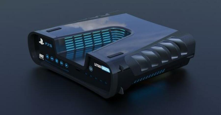 PlayStation 5 rendering