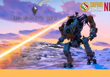 No Man's Sky Exo Mech Aggiornamento