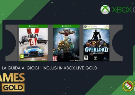 Games with Gold per maggio 2020