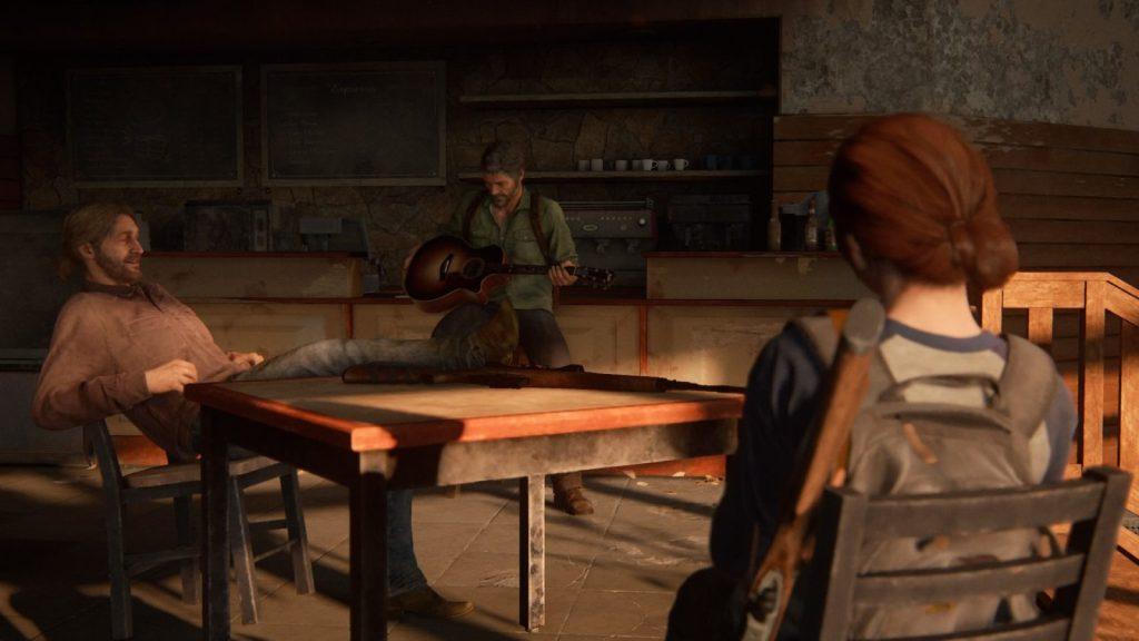 The Last of Us Part II _ Ellie, Joel, Tommy