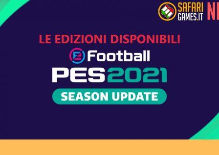 Copertina edizioni PES 2021