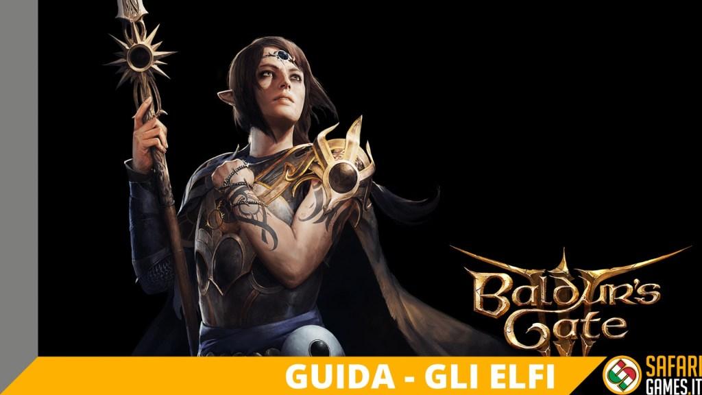 baldur's gate 3 elves