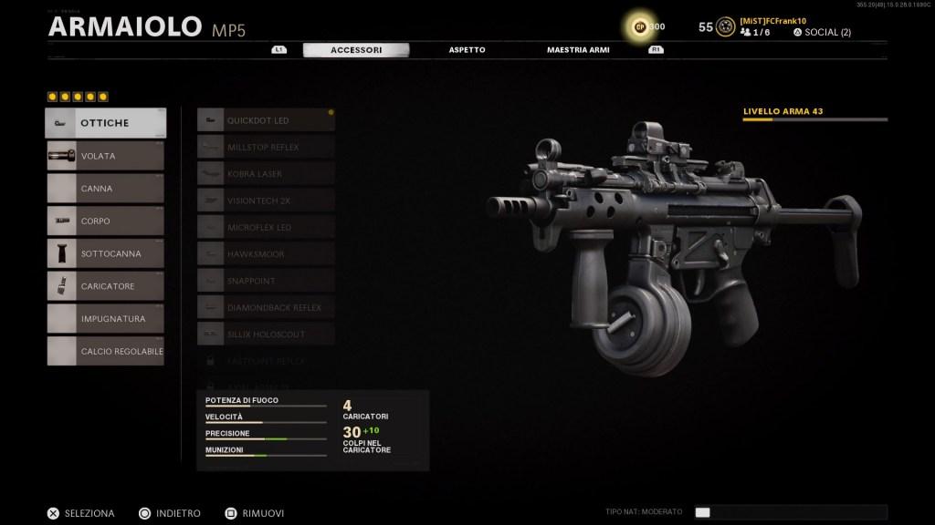 Guida Cold War MP5