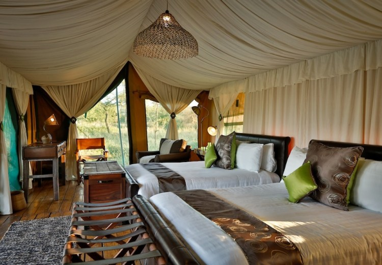 6 days luxury lodge safari
