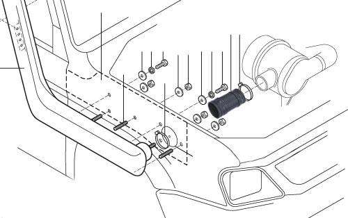 Safari Snorkel System for the Mitsubishi Triton