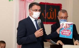 Vali Dr. Ozan Balcı Okul Öncesi Dini Eğitim Seti Dağıtım Programına Katıldı