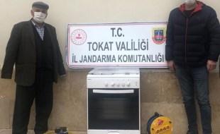 TOKAT İL JANDARMA EKİPLERİ HIRSIZLARI YAKALADI